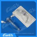 Tubo de traqueotomía médica libre de látex desechable