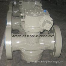 Hochdruck 900lb Guss Stahl Wcb Getriebe Betrieb Stecker Ventil