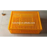Transport 10 chicken plastic crate plastic poultry transport cage