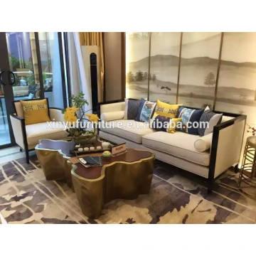 2016 Sterne Hotel Luxuriöses Hotel Stoff Sofa XYN2770