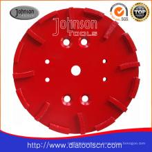 Disco de rectificado de 250mm para hormigón