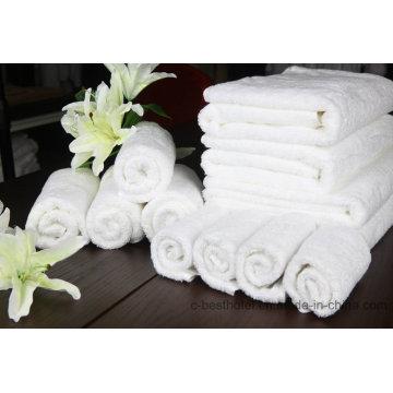 Umweltfreundliches 100% Baumwolle Badetuch Gesicht Handtuch Hotel