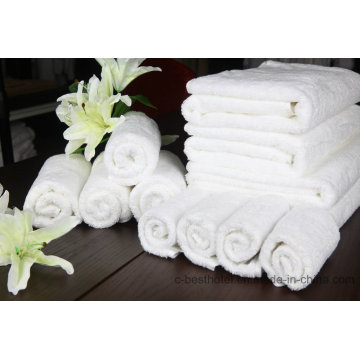 Eco-Friendly 100% Cottom Bath Towel Face Towel Hotel