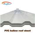 bunte kunststoffwand PVC wellpappe hohlblech