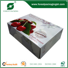 Caixa de cartão / frutas frescas caixa caixa de maçãs