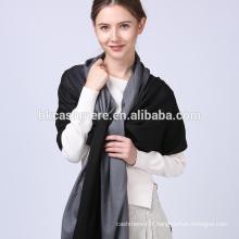 Haute qualité usine pas cher prix hiver tissé personnalisé écharpe en laine tricot