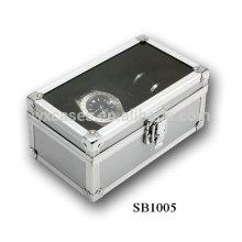 Neue Design Aluminium Display Uhrenbox für einzelne Uhren Großhandel