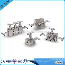 Novos produtos de colector de aço inoxidável de alta qualidade de 3 vias