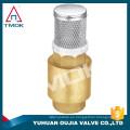 válvula de retención de la bomba de condensación con malla de fabricación china