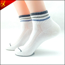 Solid All White Socks for Women