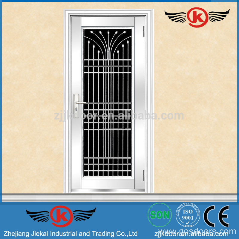 Jk ss9084 apartment stainless steel safety door design Grill main door design