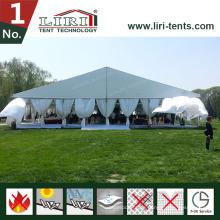 25m Clear Span temporäres großes Zelt für Restaurant