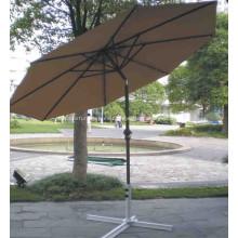 Paraguas del patio llevado paraguas impermeable ligeros de aluminio
