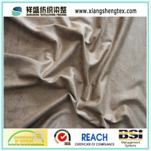 100% Polyester Knitted Suede Sofa Fabric