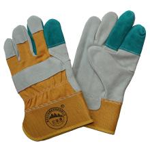 Kuh Split Leder Arbeitshandschuhe / Schutzhandschuhe / Cut Resistant Handschuhe