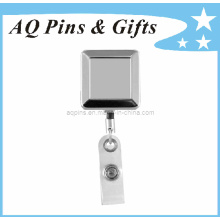 Bobine de badge avec forme carrée en placage de nickel
