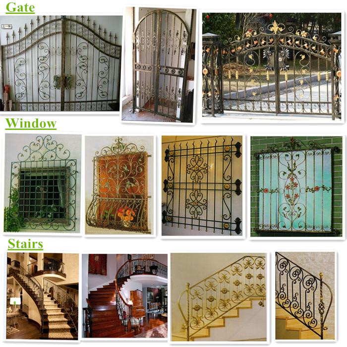 Wrought Iron Usage