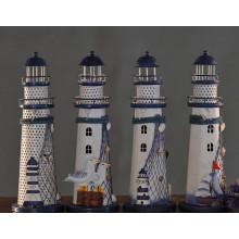 Kunst Köpfe Urlaub Beleuchtung Dekor Metall Leuchtturm Kerzenhalter Großhandel