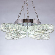 professional factory provide for Modern Crystal Chandelier LED room decor hanging pendant lights export to Italy Suppliers