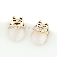 Billige natürliche Opal Ohrringe neue Mode Ohrringe