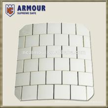Placas balísticas duras de compuesto de cerámica UHMWPE