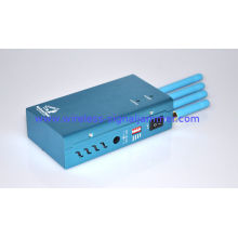 Multi Band Gps Signal Jammer With Lithium-ion Battery To Car