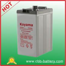 500ah 2V versiegelte Bleibatterie für die Telekommunikation