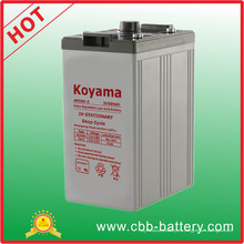500ah 2V batería de plomo sellada para las telecomunicaciones