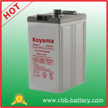 Bateria acidificada ao chumbo selada 2V de 500ah para telecomunicações