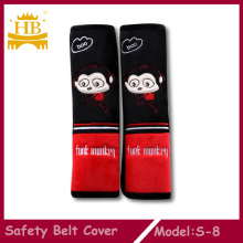 Short Fur Comfortable Safety Belt Cover for Car