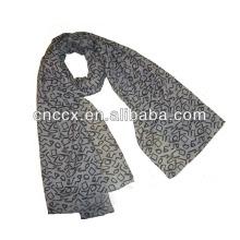PK17ST180 floral estampado lenço de caxemira