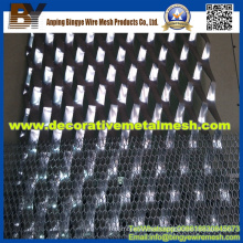 Aluminum Expanded Metal Mesh for Ceiling Decoration (Manufactory)
