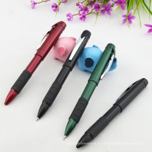Função Twistable Barril de plástico 2 em 1 caneta