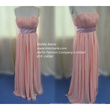 Vestido de noiva Chiffon Sweetheart Dress Vestido de noiva Dama de honra BYE-14066
