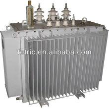 Baja pérdida 11kv 33kv alimentación transformadores trifásicos