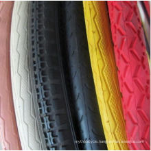 Hot Sale Solid Rubber Bike Tyres Bicycle Tyre
