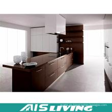 Muebles del sistema de diapositiva del cajón del gabinete del grano de madera del diseño moderno (AIS-K056)