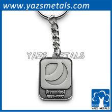 Porte-clés en métal personnalisé avec laser dreamhost