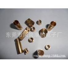 Écrous en laiton et manchon en cuivre métallique