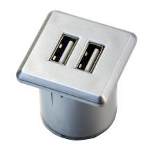 Cargador USB de doble puerto