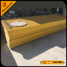 Corrosion resistant FRP grating and FRP grid