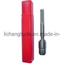 Adaptateur SDS-Plus avec tube en plastique