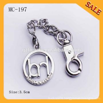 MC197 New hardware custom handbag metal label,metal tag brand with your design
