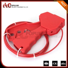 Elecpopular 2016 Novos produtos On Market RoHS Passed Red Small Cable Wire Lock Protection
