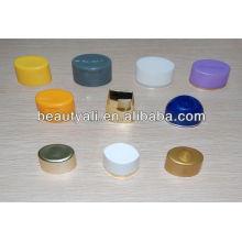 Plastic cream cosmetic oval cap for tube
