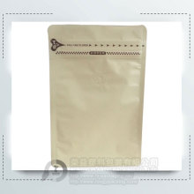 250g Flat Bottom Kraft Paper Coffee Bag