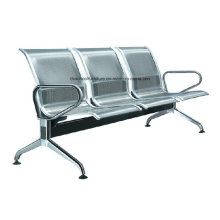 Stainless Steel Public Chair Waiting Chair with Armrest