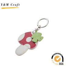 Top Sale PU Leather Cartoon Key Ring for Children Gift
