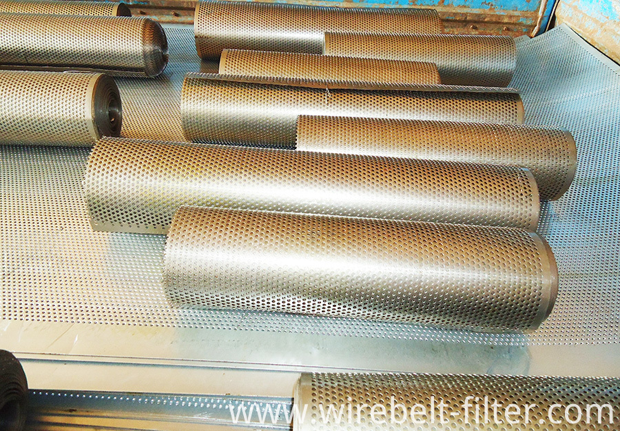 Welded Perforated tubes