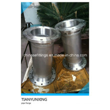 Flanges de aço inoxidável 316L Wn RF com tubos